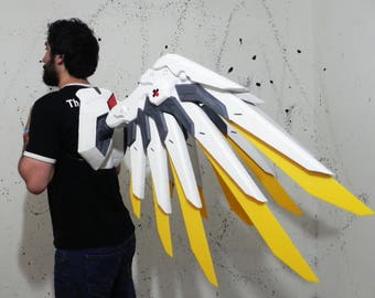 Mercy wings Overwatch cosplay prop