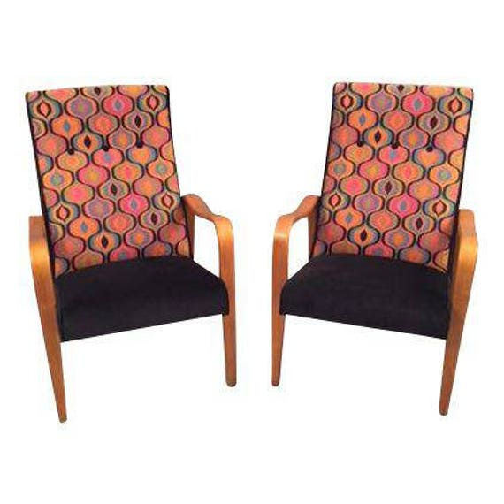 Mid-Century Restored Thonet Bentwood Chairs