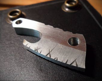 Opener Keychain. Carbon or stainless steel.