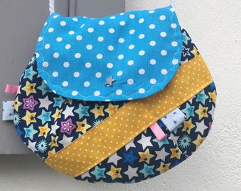 Girl, girl (large) small satchel shoulder bag * on order - fabric choices *.