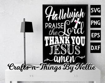 Hallelujah SVG