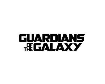 Guardians of the Galaxy Decal / Vinyl Sticker / Movie Decals