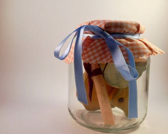 """Fables in the Jar """"The Fox and the Stork"""""""
