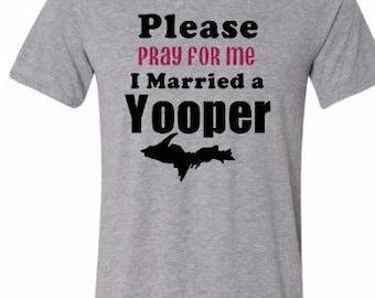 yooper shirt, white, yooper, tshirt