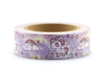 Unicorn Washi Tape - Washi Tape -  Unicorn Tape - Paper Tape - Planner Washi Tape - Washi - Decorative Tape - Deco Paper Tape -Unicorns