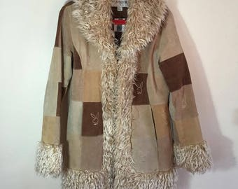 Vintage Suede Playboy Coat