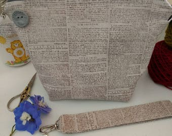 Newspaper Project Bag