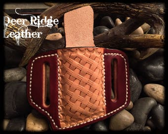 Single Stack Magazine Holster- Made to Order