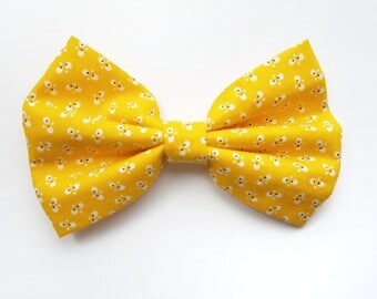 YELLOW BOWTIE - pet apparel, cat bowtie, dog bowtie, cat apparel, dog apparel