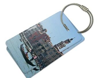 Rialto Bridge Venice Italy Suitcase Bag Id Luggage Tag Set