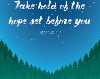 Hope- 8.5x11 in.