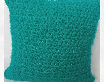"Crochet Throw Cushion 17"" x 17"" Cushion liner included"