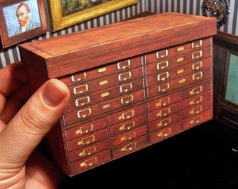 Awesome French Apothecary Cabinet . 1900s . VIDEO TUTORIAL .Instant Digital  Download . Scale