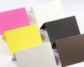 25 - A2 Folded Cards  - Blank Note Card - Blank Thank You Card - 4 1/4 x 5 1/2