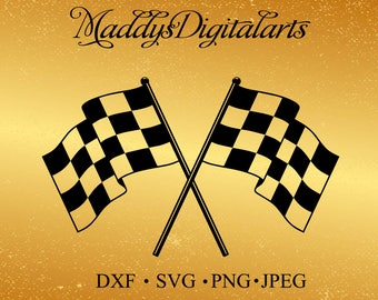 Checkered Flags #1 Superbike Motorcycle Car Truck Nascar Indy Race Racing SVG ,PNG Digital Clipart Vector Cricut Cut Cutting Download