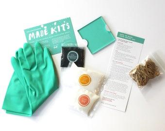 Indigo Dye Kit / DIY Indigo Kit / Shibori Kit / Learn to indigo Dye / Learn Shibori / Make Your Own Indigo / Gifts for Fabric Lovers