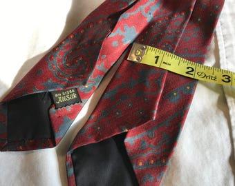 Vintage Skinny Paisley tie