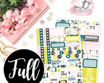 Honey FULL Kit || Vertical || 150+ Planner Stickers || Erin Condren Life Planner