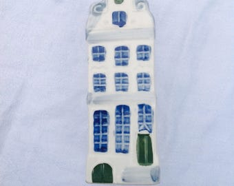 Dutch house handpainted