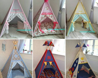 Teepee tent made to order