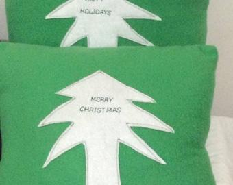 Christmas Pillows, Christmas Throw Pillows, Christmas decor, Holiday decor, Christmas Tree pillow