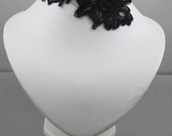 Black Lace Black Lace wedding necklace