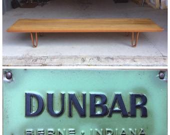 Edward Wormley Dunbar Long John Bench Coffee Table