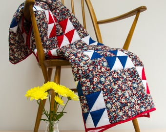 Patchwork  Quilt Hand quilted