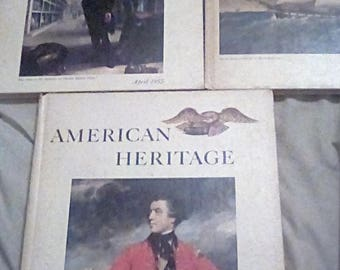 American Heritage Magazines Three Book Set Hardcover