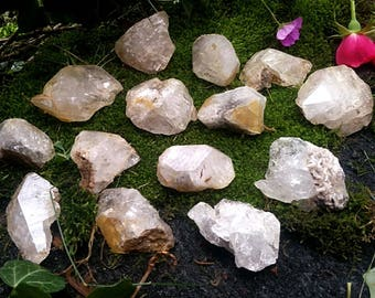 Large herkimer diamond chunk crystal from New York herkimer quartz crystal herkimer diamond crystal raw crystal herkimer natural crystals