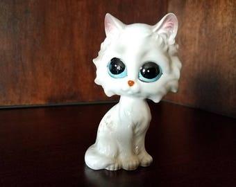 Lefton Big Eyes White Cat