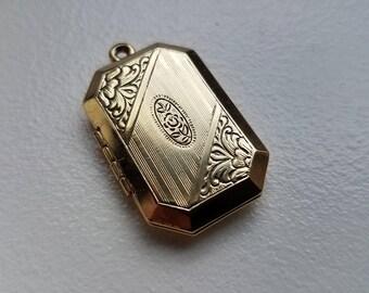 Gold Tone Locket