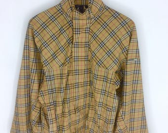 Rare Design Burberry's Golf Jacket Hoodie