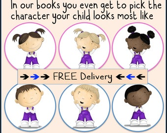 Personalised Children's Book, Perfect Children's Gift, Keepsake with Free Shipping! SAME DAY PROCESSING