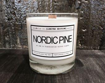sensōrius co. NORDIC PINE soy candle