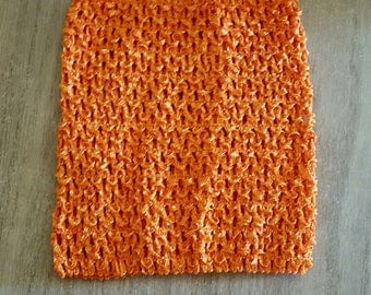 sale 3.3 instead of 3.80.BUSTIER stretchable Orange 0-16 months crochet for creating baby tutu dress