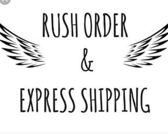Rush my order to express delivery 1-3 days to get to you.