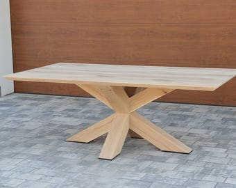 Oak 2X dinning table