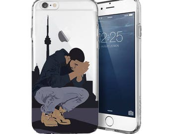 "Drake iPhone Case, The ""In the Six"" Phone Case, Drake iPhone Case, Drake Samsung Case, The Six iPhone Case - Fits iPhone, Samsung, LG..."