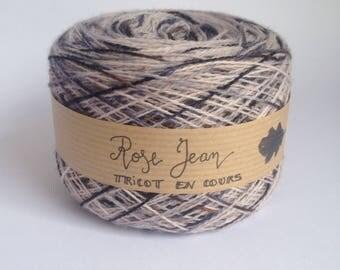 Rose denim - Lace Merino - 100 g & m 715