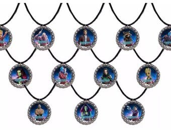 12x Guardians of the Galaxy Vol 2 Baby Groot Party Favor Necklaces