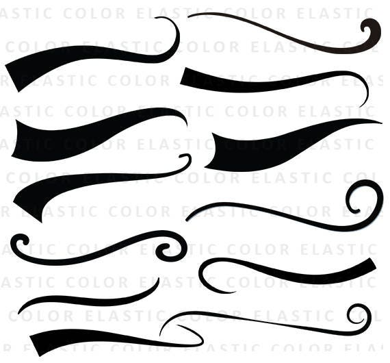 Swoosh Svg Font Tail Underline Svg File Digital Download Swoosh Cricut Cut File Text Tail Svg Eps Dxf Png From Elasticcolor On Etsy Studio