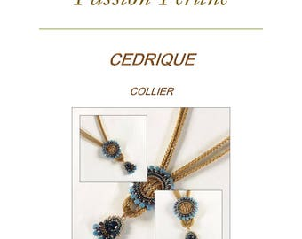 Pattern necklace CEDRIQUE