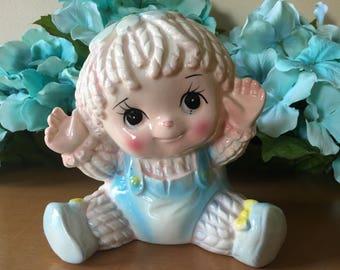 Nancy Pew Baby Rag Doll Planter