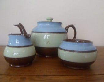 Sadler Brown Betty Tea Set