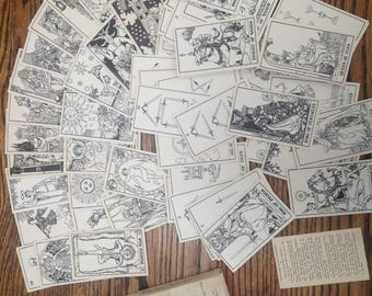 Vintage Builders of the Adytum tarot deck