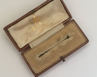 A Vintage Asprey Brooch/Pin Case
