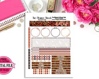 Erin Condren Fall Notes // Printable Planner Stickers // Planner Printables // Fall // Autumn // Fall Notes // Erin Condren