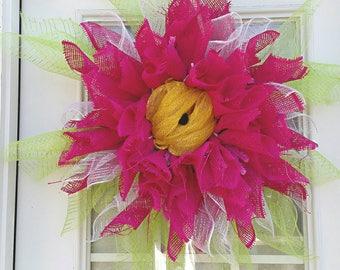 Summer Flower Wreath