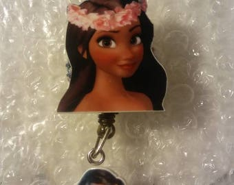 Moana RN ID Holder badge reel